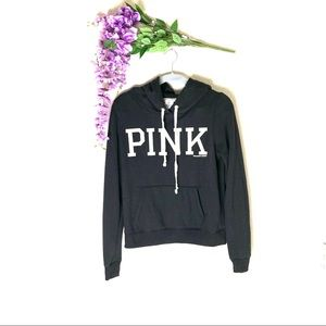PINK Victoria Secret spell out hoodie pullover